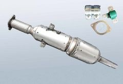 Diesel Particulate Filter RENAULT Megane III CC 1.5 dCi (EZ0|1)