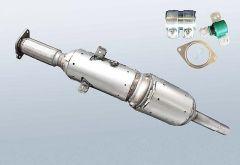Diesel Particulate Filter RENAULT Megane III 1.5 dCi (DZ0|1)