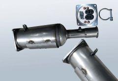 Diesel Particulate Filter CITROEN C4 2.0HDI (LA)