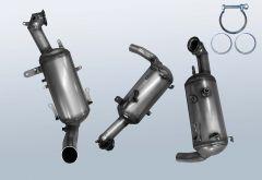 Diesel Particulate Filter OPEL Combo D 1.3 CDTI (X12)