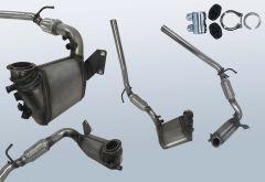 Diesel Particulate Filter VW Polo 1.4 TDI (9N3)