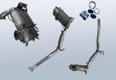 Diesel Particulate Filter VW Scirocco III 2.0TDI (137)