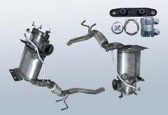 Diesel Particulate Filter AUDI A3 2.0 TDI (8P1)