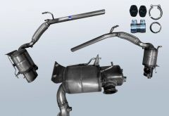 Diesel Particulate Filter VW Polo 1.6 TDI (6R)