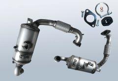 Diesel Particulate Filter MAZDA 2 1.6 MZ-CD (DE)