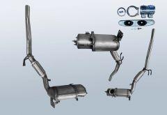 Diesel Particulate Filter VW Beetle 1.6 TDI (5C1)