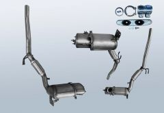 Diesel Particulate Filter VW CC 2.0 TDI (358)