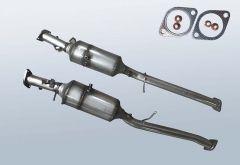 Diesel Particulate Filter FORD Ranger 2.2 TDCI (TKE)