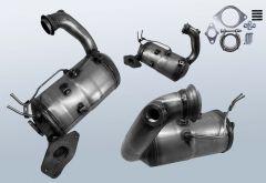 Diesel Particulate Filter RENAULT Megane III CC 1.5 dCi 110 (EZ0/1)