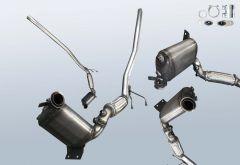 Diesel Particulate Filter VW Caddy 1.9 TDI 4motion (2KA,2KH,2CA,2CH)