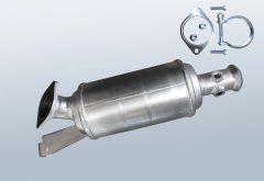 Diesel Particulate Filter RENAULT Master II 2.5dCi (ED, HD, DU)