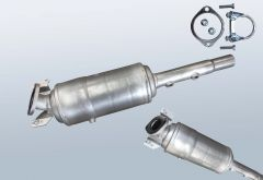 Diesel Particulate Filter RENAULT Megane II 1.5dCi (CM16)