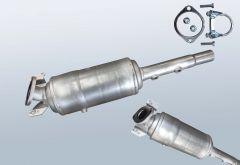 Diesel Particulate Filter RENAULT Megane II 1.5dCi (BM16)