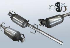 Diesel Particulate Filter MERCEDES BENZ Vito 109 CDI (W639603)