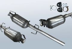Diesel Particulate Filter MERCEDES BENZ Vito 109 CDI (W639701)