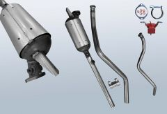 Diesel Particulate Filter RENAULT Laguna II Grandtour 2.0 dCI (KG0/1)