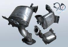 Diesel Particulate Filter CITROEN Jumpy III 1.6 HDI 8v (VF7)
