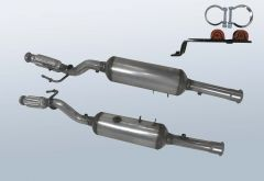 Diesel Particulate Filter CITROEN Jumpy 2.0 HDI