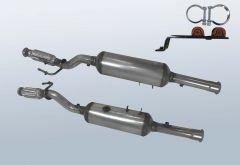 Diesel Particulate Filter CITROEN Jumpy 2.0 HDI (VF7)
