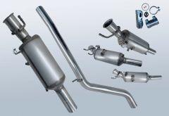 Diesel Particulate Filter MERCEDES BENZ B220 CDI (W246203)