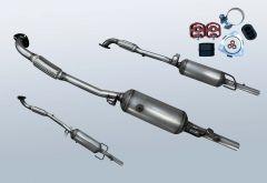 Diesel Particulate Filter OPEL Astra H 1.7 CDTI (L48)
