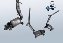 Diesel Particulate Filter VW Polo 1.2 TDI (6R)