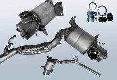 Diesel Particulate Filter AUDI A1 Sportback 1.6 TDI (8XA,8XK)