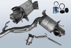Diesel Particulate Filter AUDI A1 Sportback 2.0 TDI (8XA 8XF)