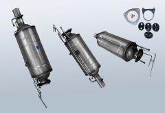 Diesel Particulate Filter CITROEN Jumper II 3.0 HDI 155 (250)