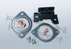 Montagesatz Dieselpartikelfilter NISSAN Qashqai 1.5 dci (J10)