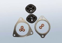 Mounting kit for DPF VOLVO S60 I 2.4 D (P26)