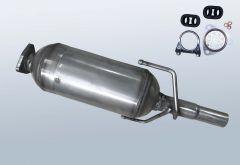 Diesel Particulate Filter OPEL Corsa C 1.3 CDTI (F08,W5L)