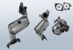 Catalytic Converter RENAULT Captur I 1.2 Tce 120 (J87)